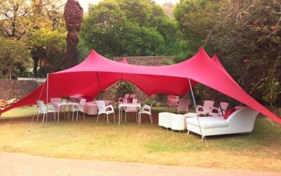 Stretch tents, the ultimate function tent