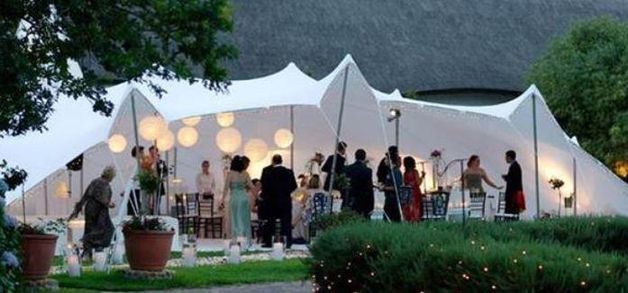 Night Event In a Stretch Tent
