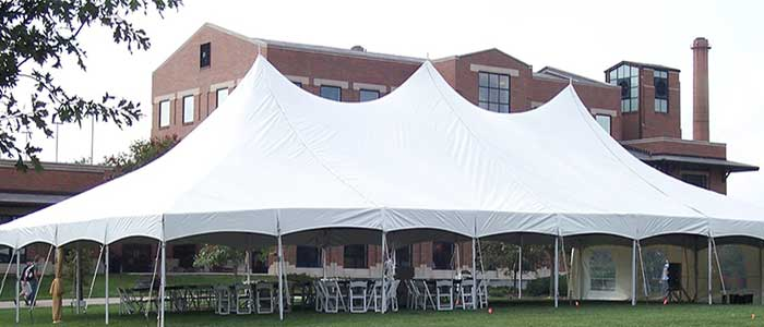 Do your event with frame tents