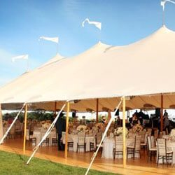 Host the perfect event with Peg and Pole Tents