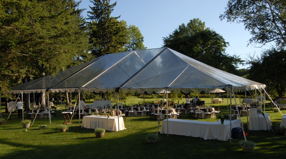 Frame tents for sale.