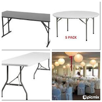 chair and table suppliers