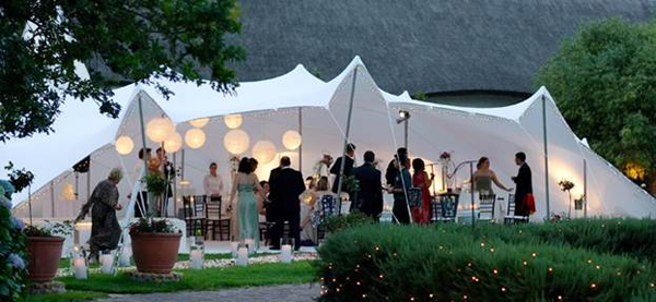 Wedding tents for sale. Stretch tents make the perfect outdoor venue.